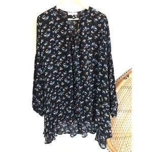 *SALE 2/$15* WAYF Floral High Low Tunic